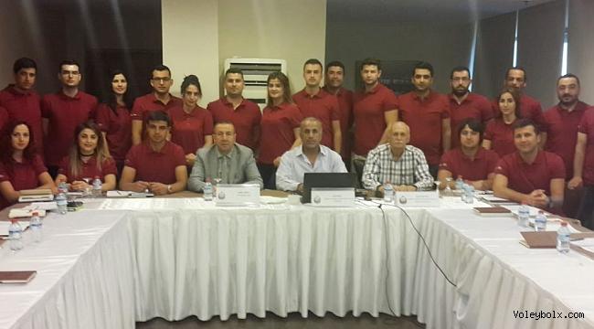 Ahmet Göksu, Ulusal Aday Hakem Kursu'nu Ziyaret Etti