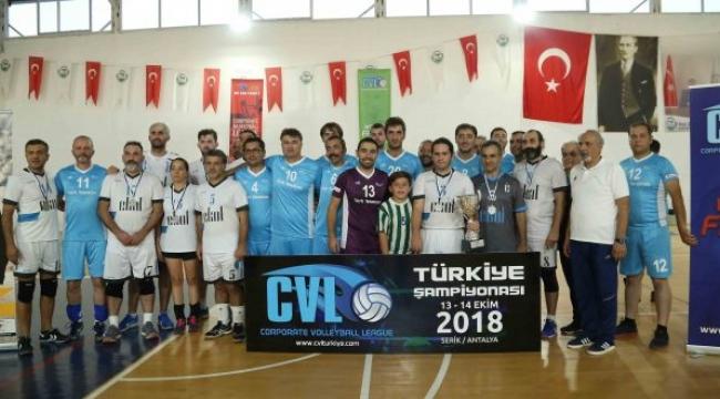 CVL Kurumlararası Türkiye Şampiyonası'nda zafer Türk Telekom 'un