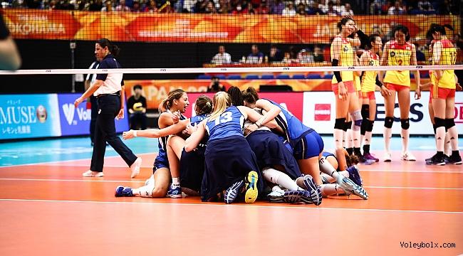 Dünya Şampiyonası'nda İtalya-Sırbistan finali!..