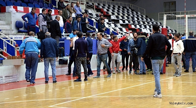 Malatya BŞ-Akkuş Bld. maçında gerginlik