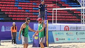 Mermer&Özdemir İkilisi, Yangzhou Open'da Sahaya Çıktı