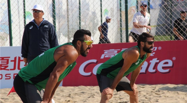Murat Giginoğlu/Volkan Göğtepe İkilisi, Yangzhou Open'a Veda Etti