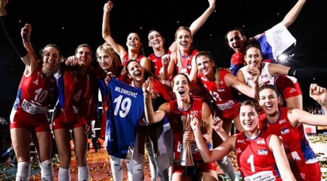 Sırbistan Dünya Şampiyonu!...