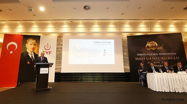 TVF 6. Olağan Mali Genel Kurulu Ankara'da Yapıldı