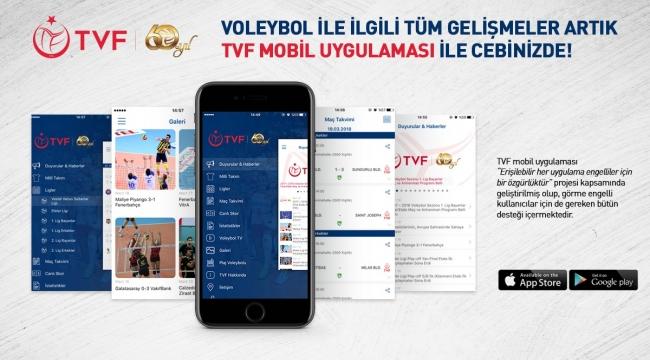 TVF Resmi Mobil Uygulaması'nda Bir Yenilik Daha!