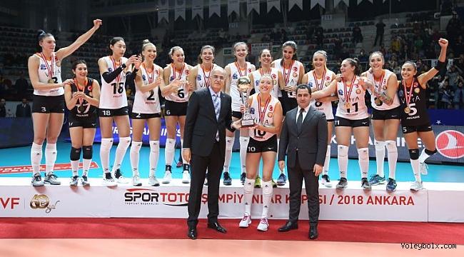 2018 Spor Toto Şampiyonlar Kupası Eczacıbaşı VitrA'nın !