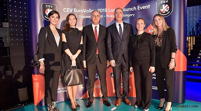 2019 EuroVolley Logo Tanıtım Lansmanı Yapıldı