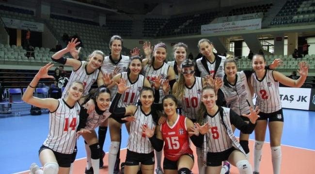 Beşiktaş, CEV Challenge Kupası'na Galibiyetle Başladı
