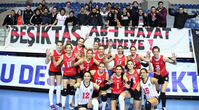 Beşiktaş, CEV Challenge Kupası'nda 16'lı Finaller Turu'na Yükseldi