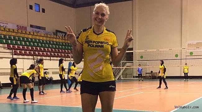 Yeliz Başa, Endonezya'nın Popsivo takımında!...