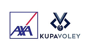 AXA Kupa Voley Erkekler Kategorisi Kurası 17 Aralık'da Çekilecek