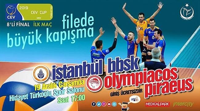 Belediye'nin konuğu Olympiakos