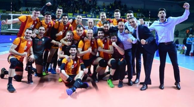 Filedeki derbi Galatasaray'ın