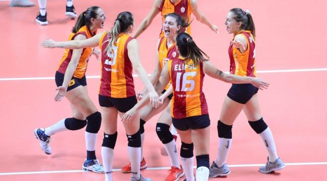 Galatasaray, CEV Kupası'nda 8'li Finaller'e Yükseldi