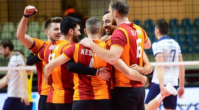 Galatasaray, CEV Kupası'nda 8'li Finaller Turu'na Yükseldi