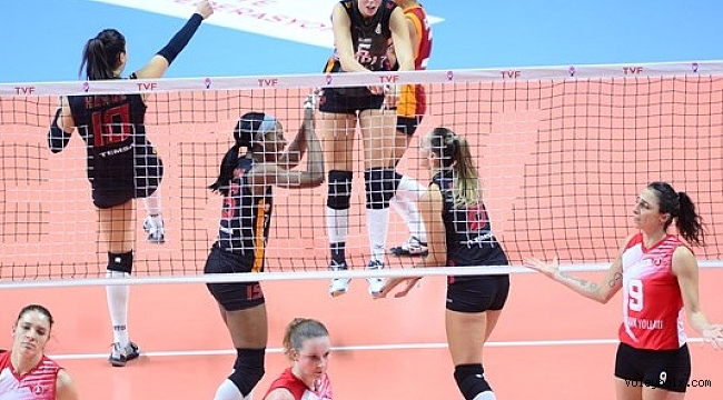Galatasaray HDI Sigorta, THY'yi 3-0 yendi