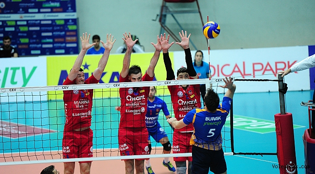 İstanbul BBSK, CEV Kupası'nda 8'li Finaller Turu'na Yükseldi