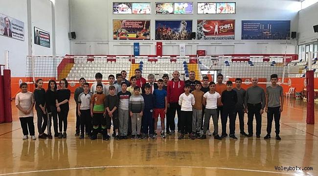 Kahramanmaraş'ta Sporcu Ölçüm ve Teknik Değerlendirmesi