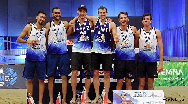 Şekerci/Urlu İkilisi'nden FIVB Dünya Turu Ljubljana Etabı'nda Gümüş Madalya !