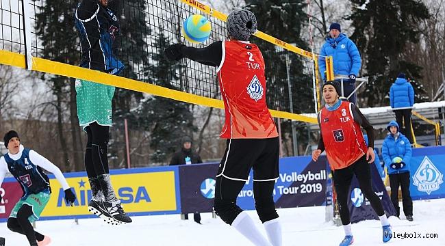 Temsilcilerimiz, Kar Voleybolu Avrupa Turu Moskova Etabı'nda Sahaya Çıktı