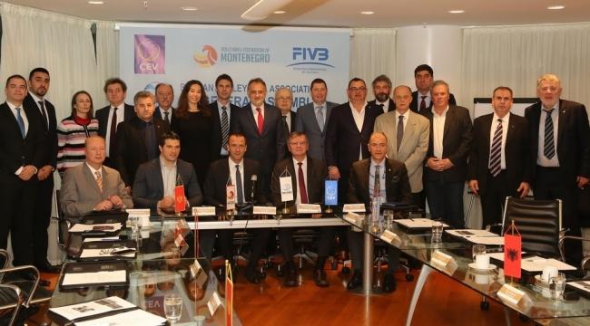 Balkan Voleybol Birliği 20. Genel Kurul Toplantısı, Budva'da Yapıldı