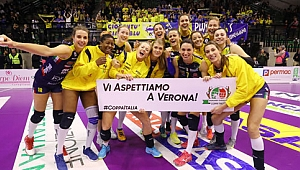 Novara ve Imoco Volley yarı finalde!...