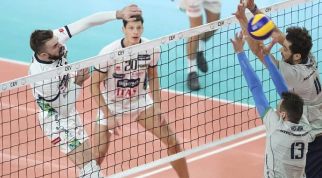 Trentino, Amriswil, Aalst ve VaLePa CEV Cup'ta Çeyrek Final'de!..