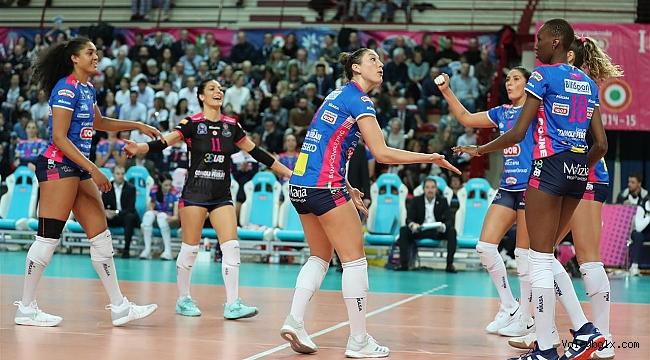 Bayanlar Şampiyonlar Ligi'nde 4. hafta tamamlandı...