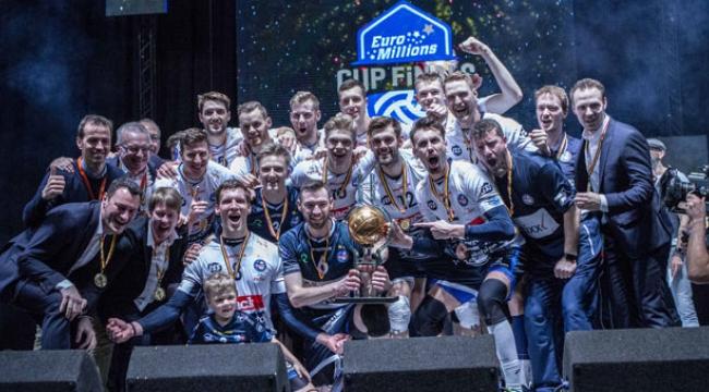 Belçika Kupası Şampiyonu Knack Roeselare!..