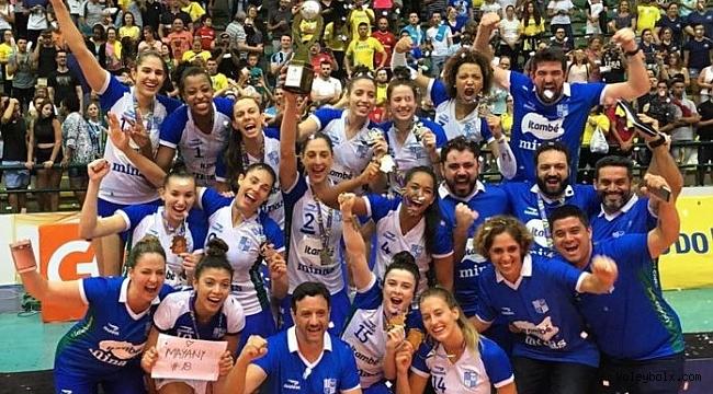 Brezilya Kupası'nda Şampiyon Minas Tenis Clube