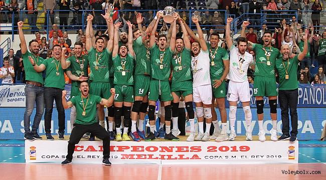 İspanya Kral Kupası'nda şampiyon Unicaja Almeria!