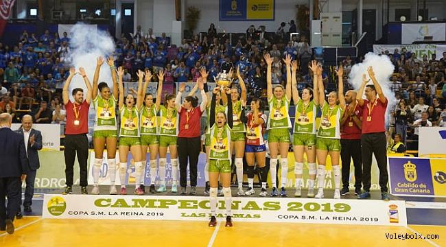 İspanya Kraliçe Kupası'nda şampiyon Logrono!