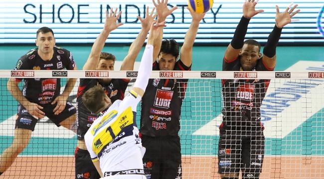 İtalya'da Lube, Modena'ya karşı şov yaptı: 3-0