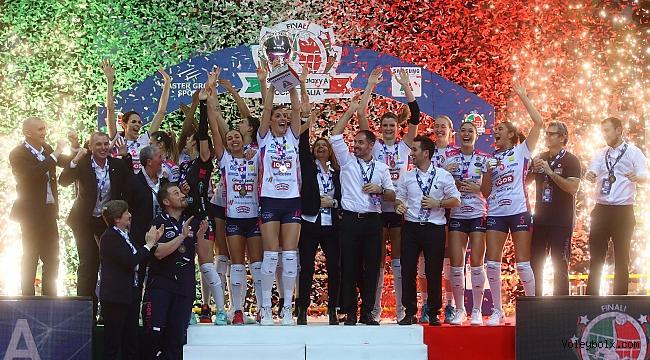 İtalya Kupası'nda şampiyonun adı değişmedi: NOVARA