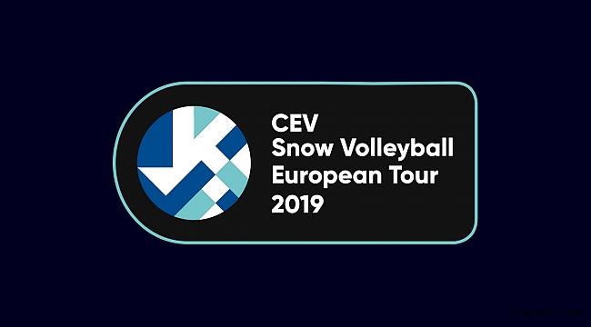 Temsilcilerimiz, 2019 CEV Kar Voleybolu Avrupa Turu Bakuriani Etabı'nda Mücadele Edecek