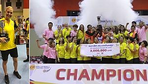 30 sayı ile Yeliz şov yaptı, Nakhon Ratchasima şampiyonluğa ulaştı! (Video)