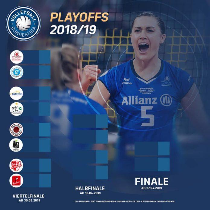 Almanya'da Bayanlar Play-Off Çeyrek Final Eşleşmeleri Gerçekleşti
