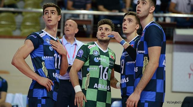 Arkas Spor, Play-Off serisine Tokat'ta başlıyor