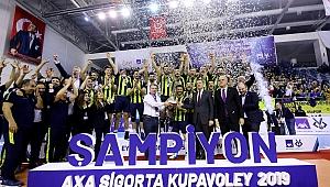 Axa Sigorta Erkekler Kupa Voley'de Şampiyon FENERBAHÇE!..