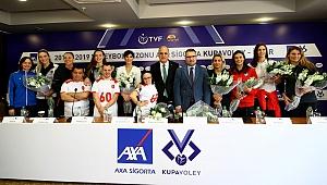 AXA Sigorta Kupa Voley Bayanlar Final Etabı Basın Toplantısı Gerçekleşti