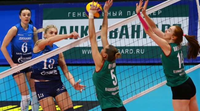 Kaliningrad'ı 3-2 yenen Dinamo Moskova ligi lider bitirdi