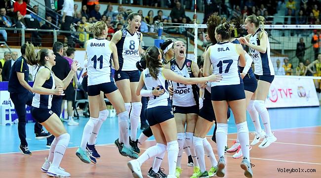 AXA Sigorta Kupa Voley'de Finalin Adı Eczacıbaşı VitrA – Fenerbahçe Opet