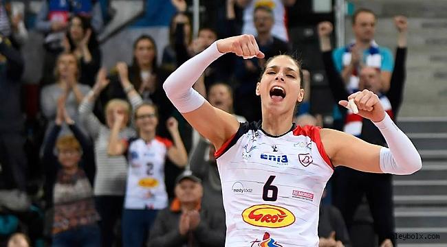 LKS Commercecon Lodz ve Grot Budowlani Lodz yarı finalde