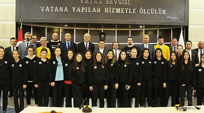TVF ile Kepez Belediyesi ve Kepez Bld. Spor Kulübü Arasında İşbirliği Protokolü İmzalandı