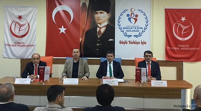1. Lig Erkekler Yarı Final Etabı Teknik Toplantısı Gerçekleştirildi