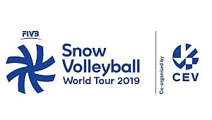 2019 FIVB Kar Voleybolu Dünya Turu Kronplatz Etabı Başlıyor