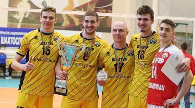 Belarus'un şampiyonu Shakhtyor Soligorsk