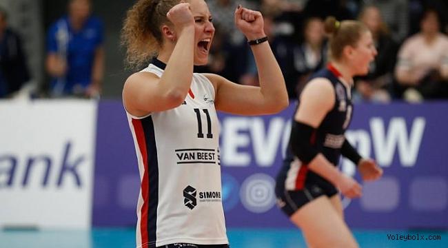 Hollanda final serisinde ilk maç Sliedrecht'in