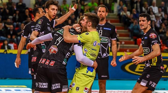 İtalya'da Modena ve Lube yarı finalde