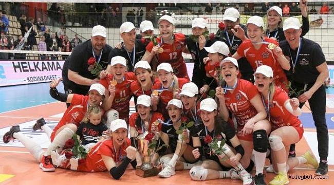 LP Viesti Salo'dan 9. Finlandiya Şampiyonluğu!